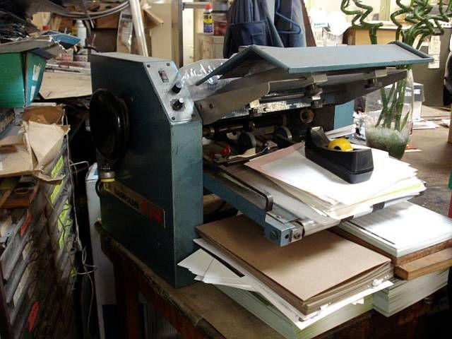 Baum 714. Folder Machine