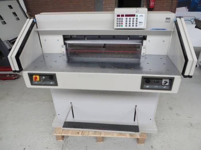 Ideal 7228-95 C3, Paper guillotine machine