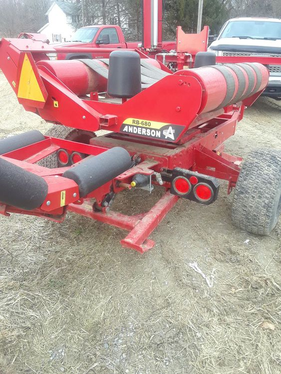 Anderson RB-680 Wrapper Hay, Forage and Rear Mowers