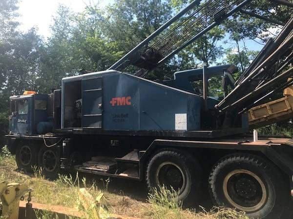 Link Belt HC218 1975 Link Belt HC218 100 Ton Conventional Truck Crane
