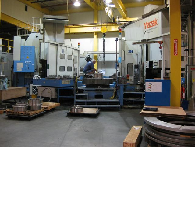Mazak A-16 VERTICAL TURNING SYSTEM