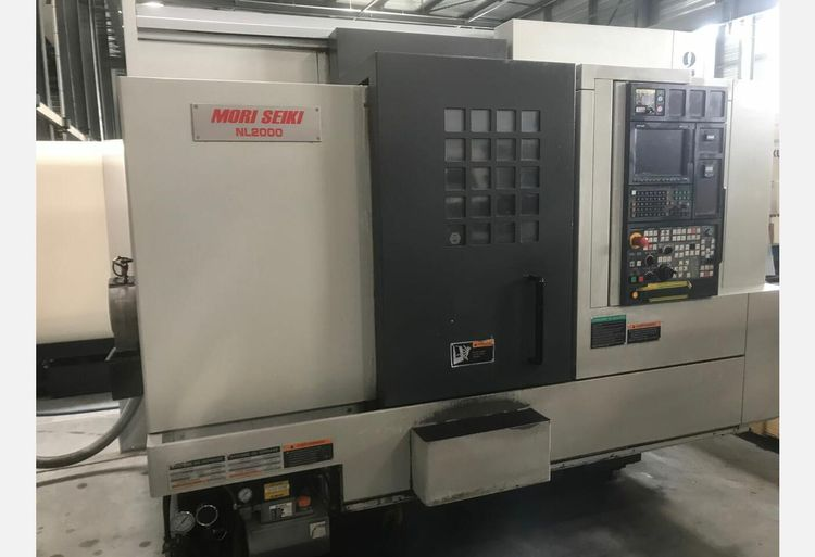 Mori Seiki CN MORI MSX-850 6000 rpm NL2000SY/500 4 Axis