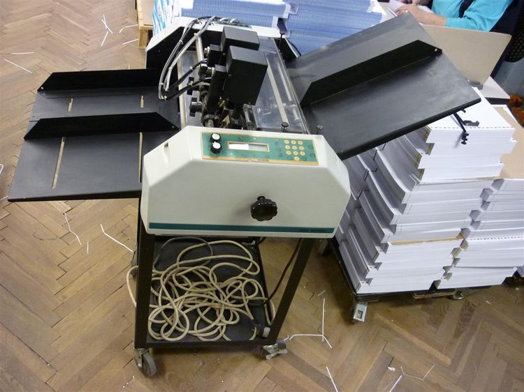 Graphic Whizard K, Numbering machine