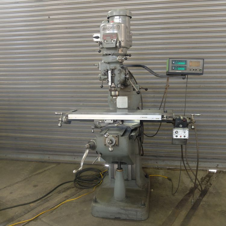 Bridgeport SERIES I VERTICAL MILLING MACHINE 4250 RPM