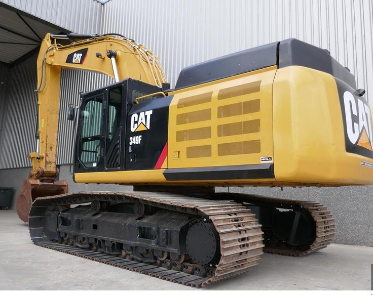 Caterpillar 349FL Tracked Excavator