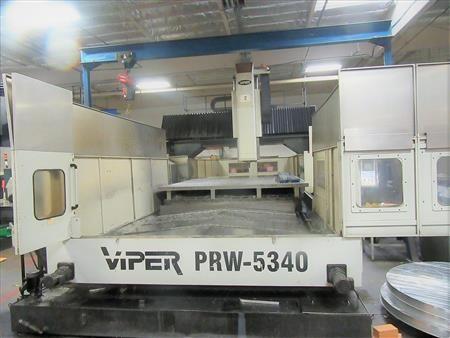 Mighty Viper PRW-5340 Fanuc 21iMB 3 Axis
