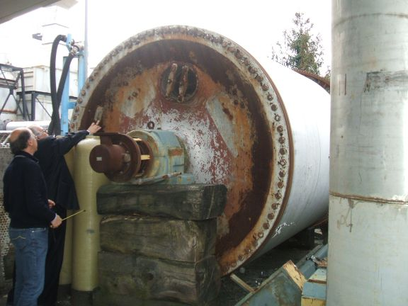 Toschi Yankee Cylinder 2500 mm dia