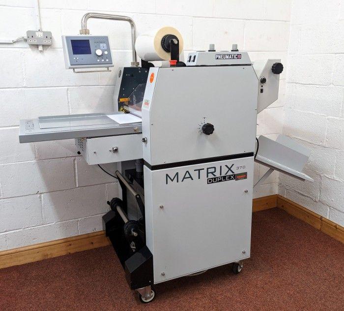 Matrix 370DP Double Sided Laminator