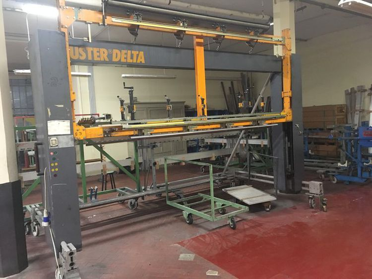 Uster Delta 1 Drawing-in machine