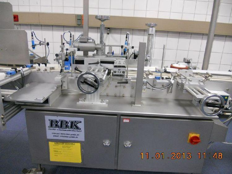 BBK self-adhesive labelling machine