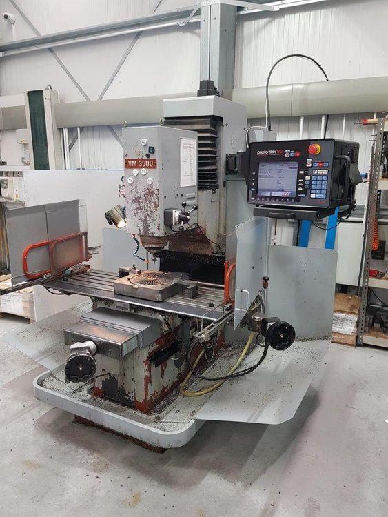 XYZ VM3500 Bed Mill Bed Mill Variable