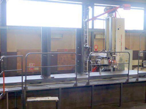 Graffenstaden FM 208 2 D CNC  Max. 1600 rpm