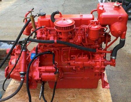 Tempest Commodore British Leyland Marine Engine