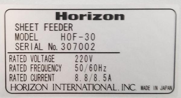 Horizon HOF-30
