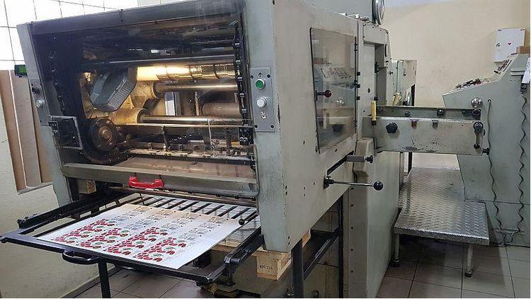 Gietz FSA720 Hot foil stamping machine
