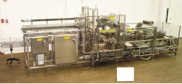 """Miller Hydro A4H25, Automatic Side Load Case Erector Packer and Sealer 6"""" - 22"""" l x 6"""" - 16"""" w x 2"""" - 13"""" h"""