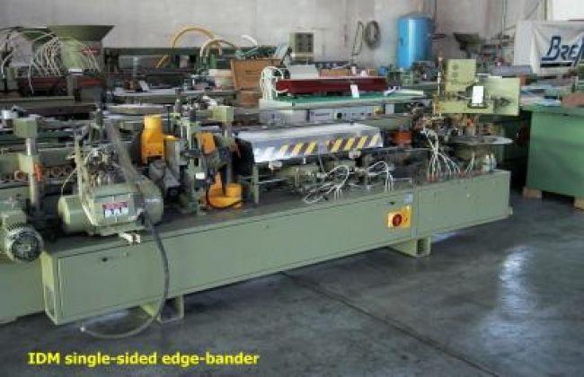 IDM EUROMATIC 1.37, Single-sided edge-bander