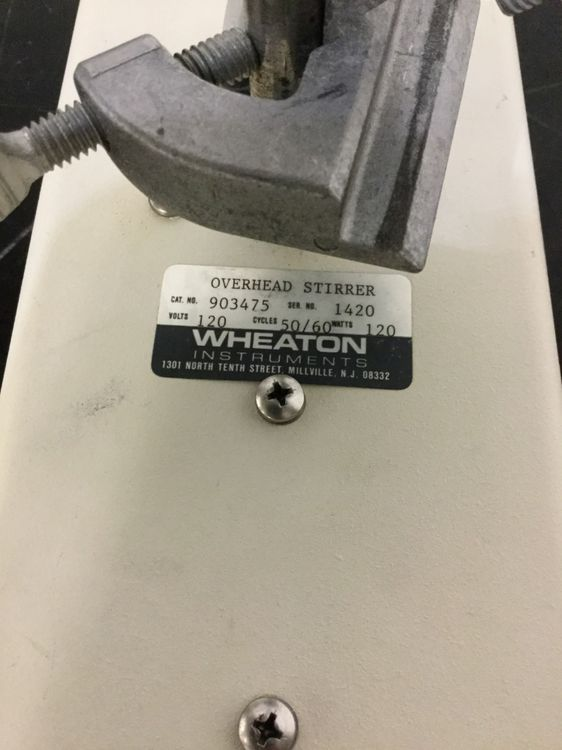 Wheaton Overhead Laboratory Stirrer