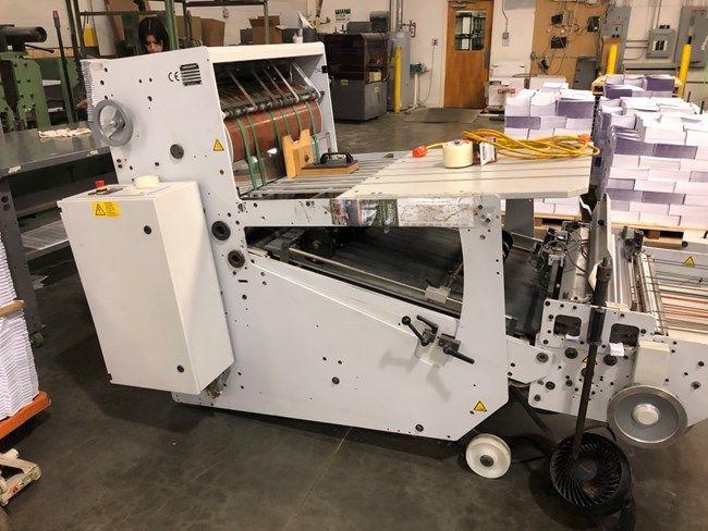 Stahl SBP 66-MKE, Presser stacker