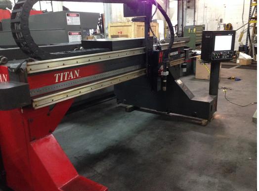 Messer Titan 6/4 LP Hypertherm Edge Pro TI  CNC Controls Retrofit Plasma Cutting System