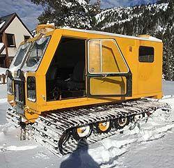Bombardier SkiDozer Full Cab