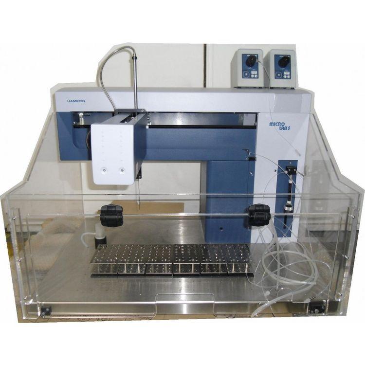 Hamilton Microlab 500 S semi-automated dispensing