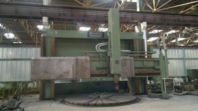 Schiess 50 DZ - CNC Vertical turret borer double column