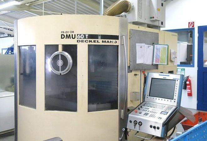 Deckel Maho DMU 60 T 3 Axis