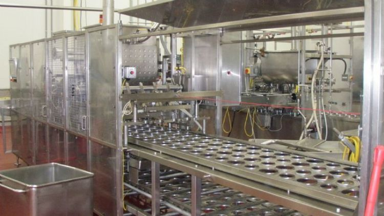 Osgood FOUR LANE Cup Filling System
