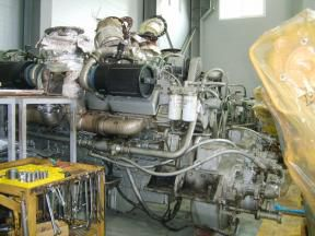 2 Detroit 16V149TI DDEC Marine propulsion engines