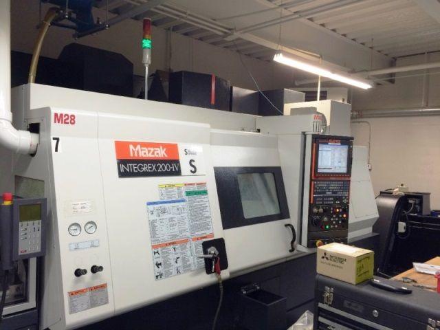 Mazak MAZATROL MATRIX CONTROL Max. 5000 rpm INTEGREX 200IV-S 6 Axis