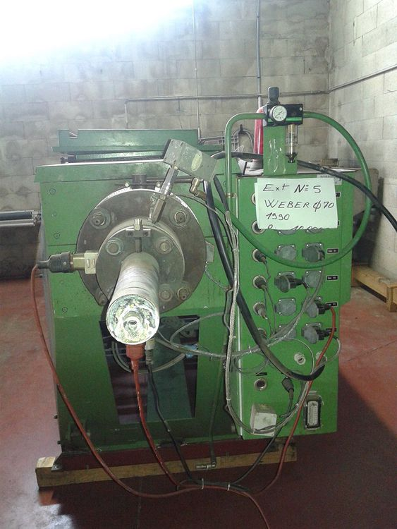 Weber Extrusion Machine