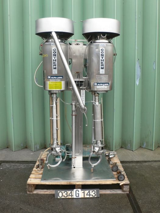 Alfa Laval CONTHERM 6X3 Scraped surface heatexchanger