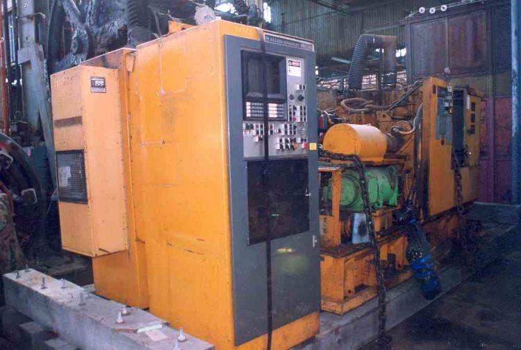 Warner & Swasey ALLEN BRADLEY 7360 N/C CONTROL 2558 rpm Warner & Swasey  1SC12 (M-5020) 2 Axis