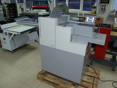 Eurofold Touchline CF-375, Automatic creaser folder