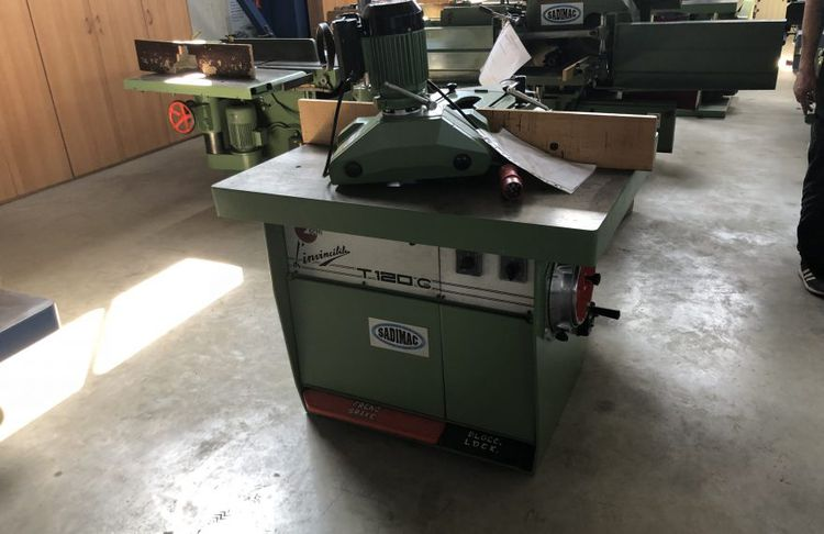 SCM T120G, SPINDLE MOULDER
