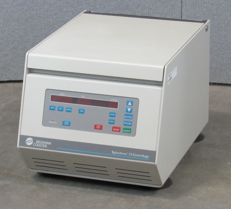 Beckman Coulter Spinchron 15 Tabletop Centrifuge with S4180 Rotor