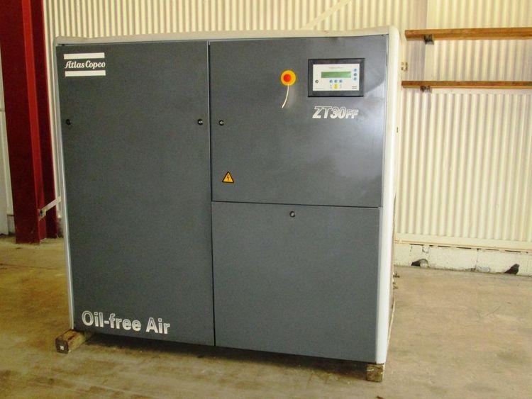 Atlas Copco ZT-30 air-cooled oil-free air compressor