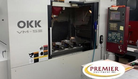 """OKK VM5 III """"BOX WAY"""" 3 Axis"""
