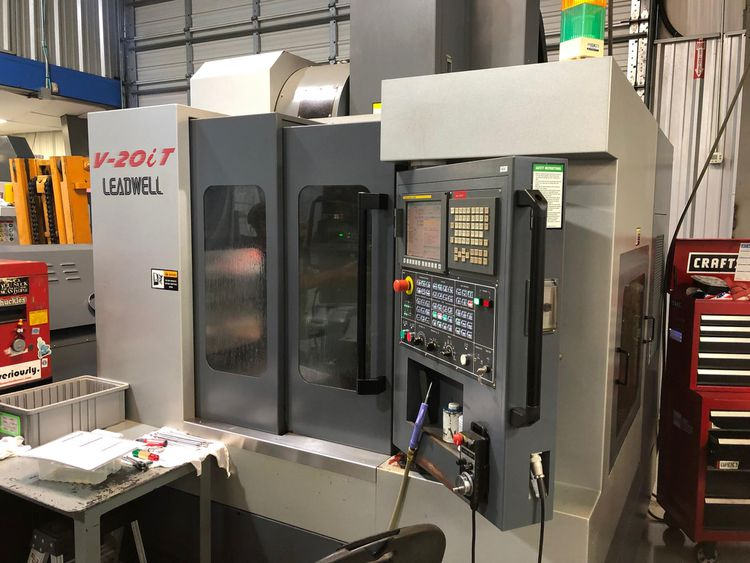 Leadwell V20iT 5-Axis or More