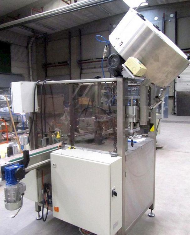 Alpikone AKA 1200 Automatic Press Capping Machine