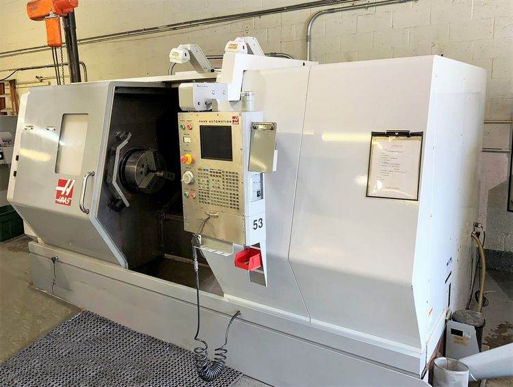 """Haas Haas CNC Control With 3.5"""" Floppy Drive & RS-232 Port 2400 RPM SL-40T"""