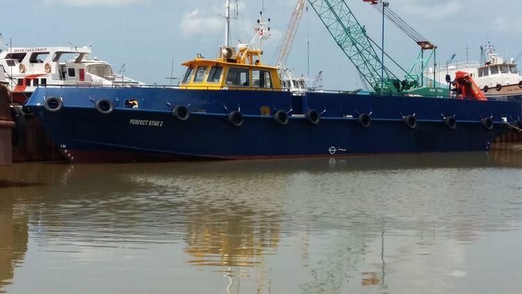 Aluminum Cargo Boat 26.00 M CARGO BOAT ALUMINIUM