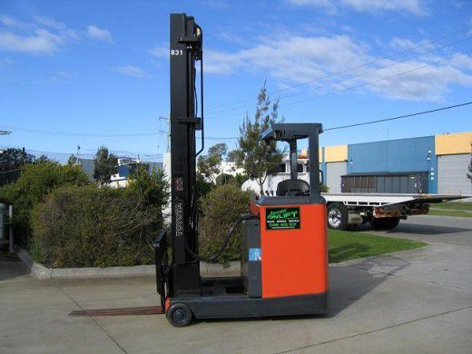 Toyota 6FBRE16 Reach Truck with 7.5 mt lift 1.6T