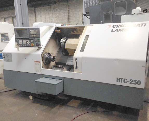 Cincinnati Fanuc 21i CNC Control 3300 RPM Hawk 250 2 Axis