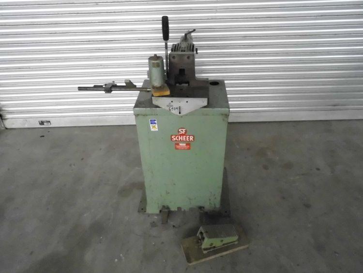Scheer DB 11 Dowel boring machine