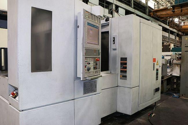 Mori Seiki NH4000 DCG 4 Axis