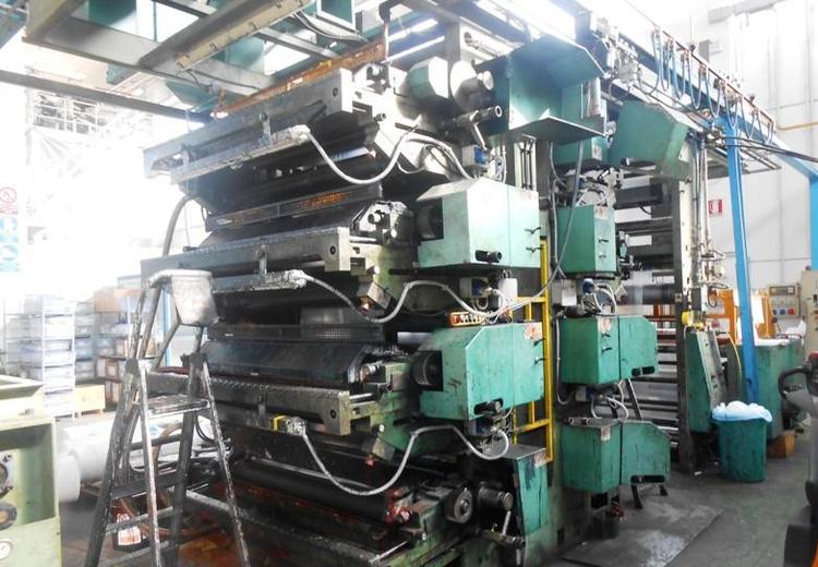TCM Stack Printing Presses 8 1.400 mm