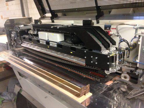 Kuper Fl Innovation, Veneer splicing machine