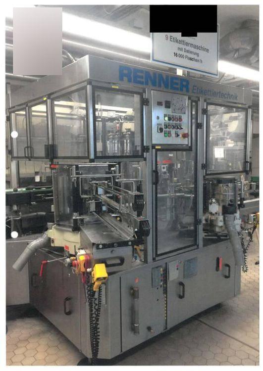 Krones Universella 15-4-4-6 labelling machine